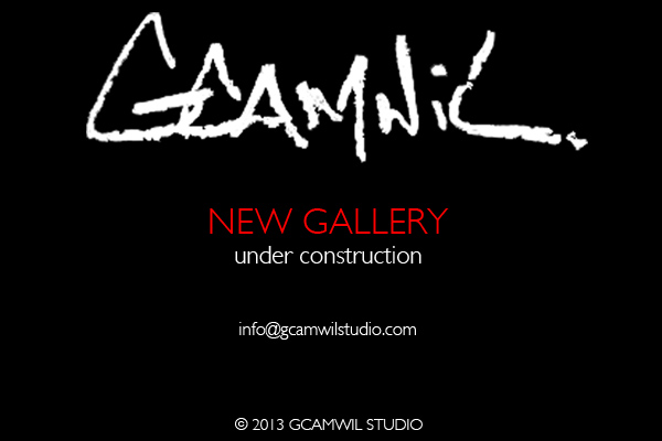 Website for Vancouver BC local artist Garett Campbell Wilson